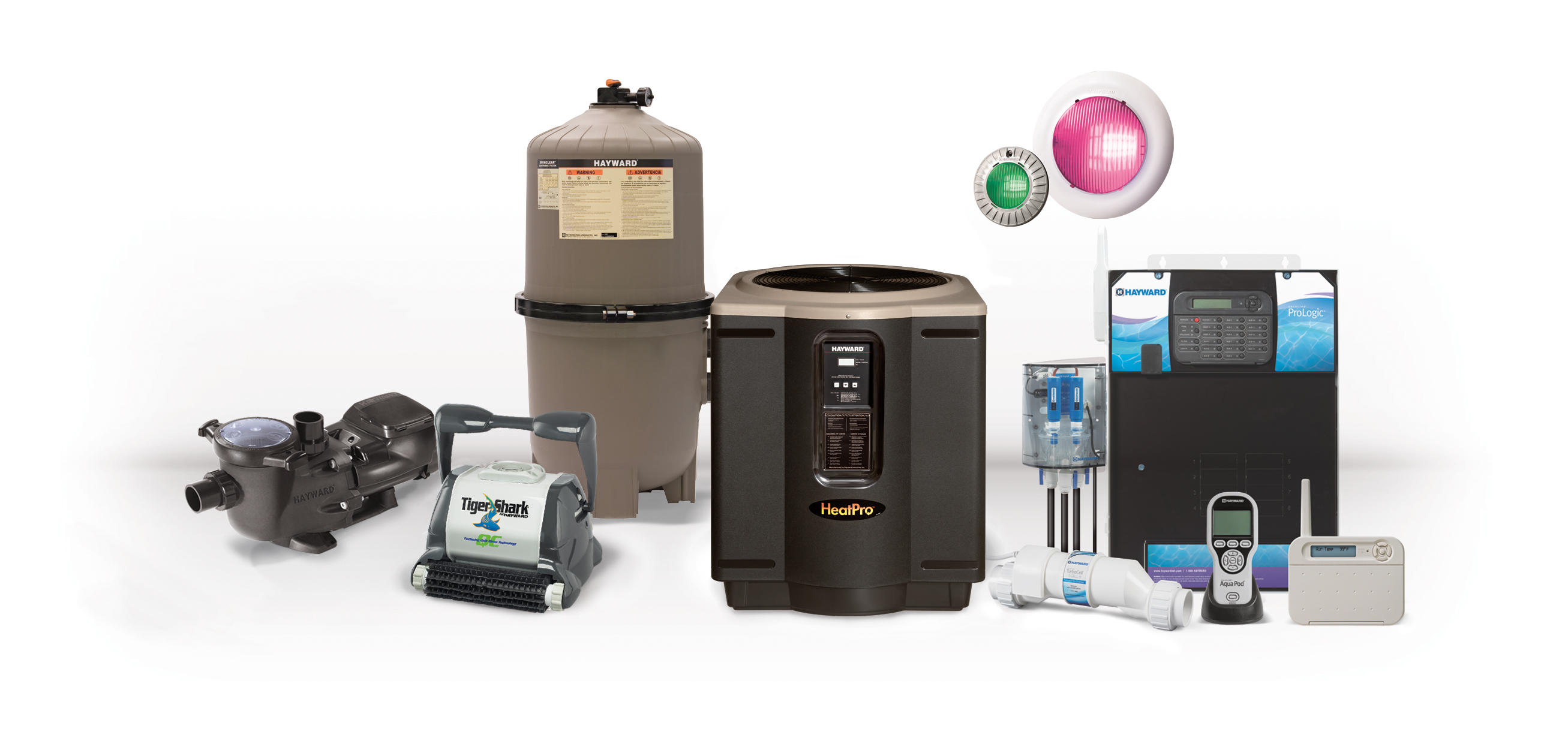 Pool products supplies titan pools - Hayward pool equipment ...